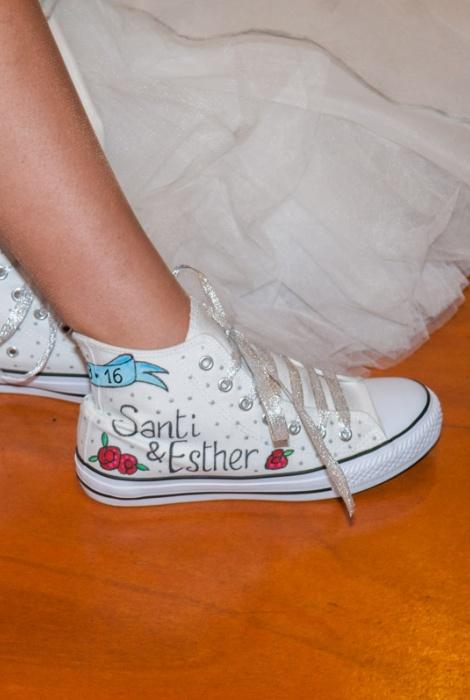 Santi y Esther, aniversario