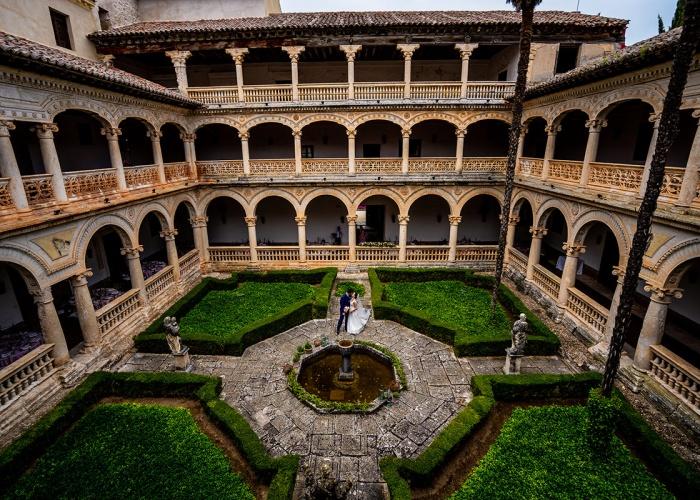 Boda Monasterio de Lupiana: Virginia y marco