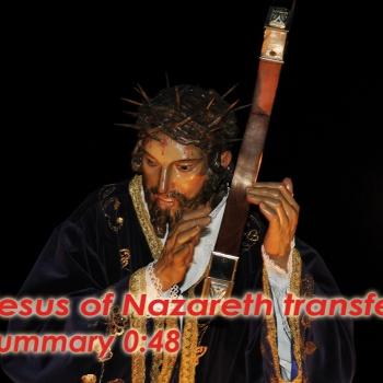 Jesus of Nazareth transfer