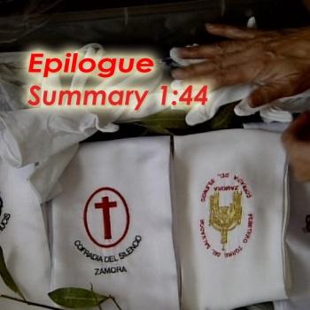 Holy Week, epilogue