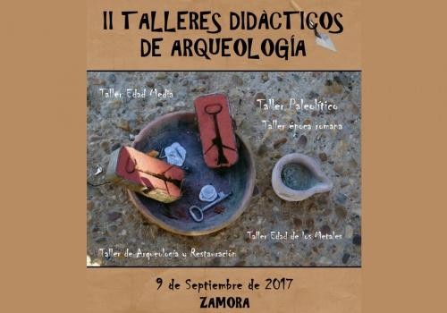 II talleres didácticos de arqueología