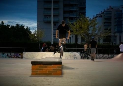 Mario Palacio - BMX Skatepark ZGZ