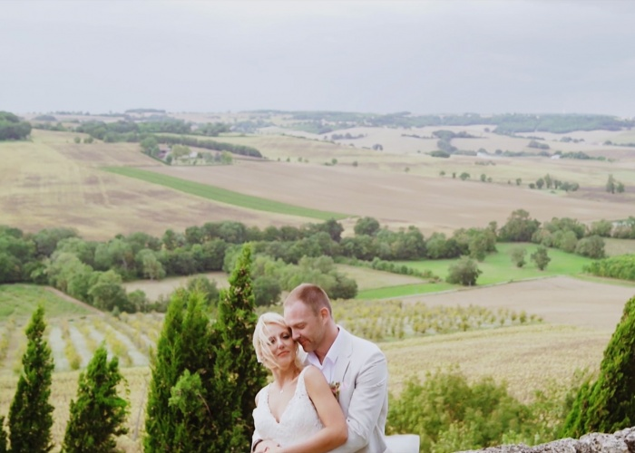 WEDDING AT castelnau des fieumarcon