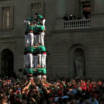 Castellers Sagrada Família